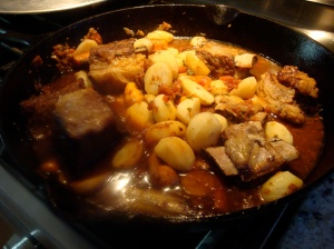 Short ribs are cooking away for our first fall dinner